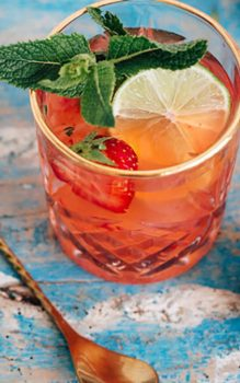 alcoholvrije-strawberry-mojito