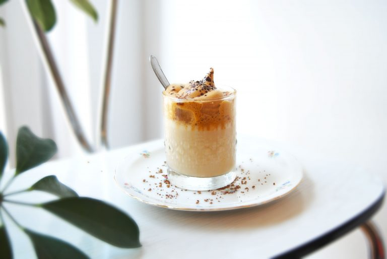 Suikervrije Dalgona coffee
