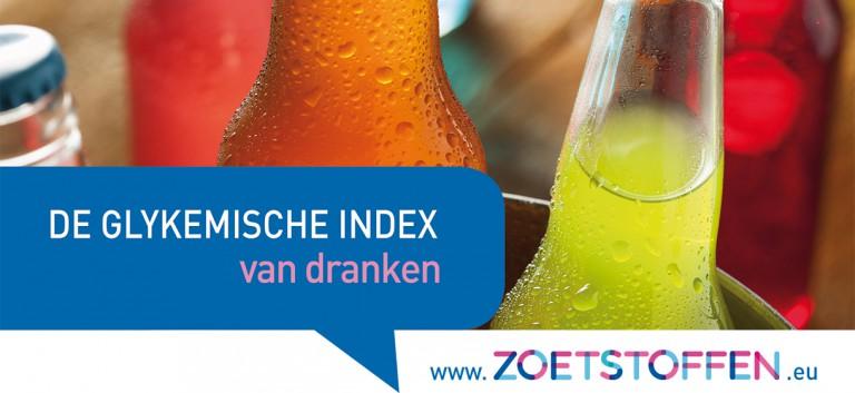 De glykemische index van dranken in een notendop