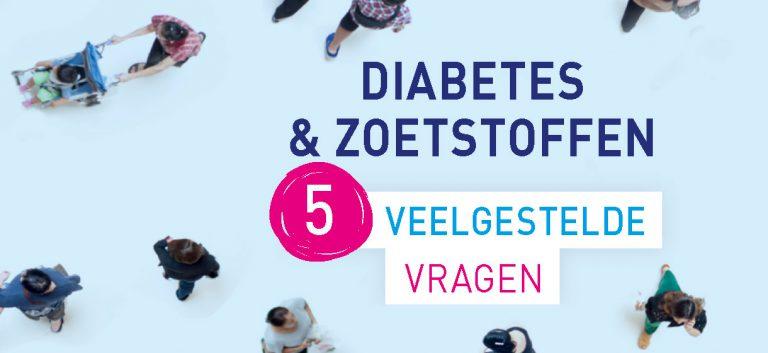 Moeten diabetici opletten voor zoetstoffen?