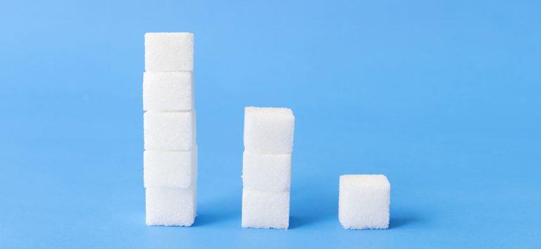 Minder suiker in de voedselketen